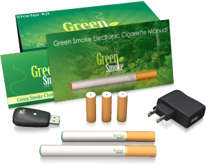 Green Smoke Basic Starter Kit Contents