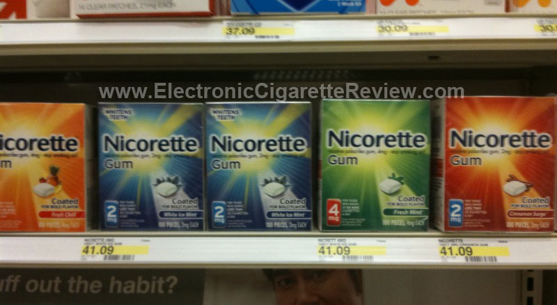 Nicorette Flavor Selection (also in Target)
