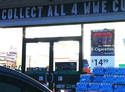 Questionable E-Cigarette Ad @ 711