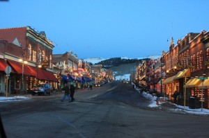 The Main Strip of Cripple Creek